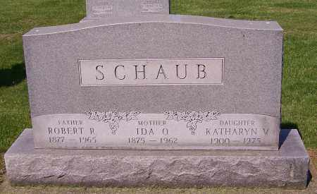 SCHAUB, IDA O. - Stark County, Ohio | IDA O. SCHAUB - Ohio Gravestone Photos