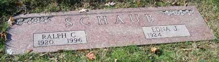SCHAUB, EDNA J. - Stark County, Ohio   EDNA J. SCHAUB - Ohio Gravestone Photos