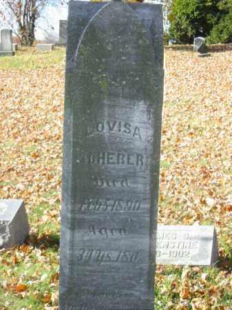 SCHERER, LOUISA - Stark County, Ohio | LOUISA SCHERER - Ohio Gravestone Photos