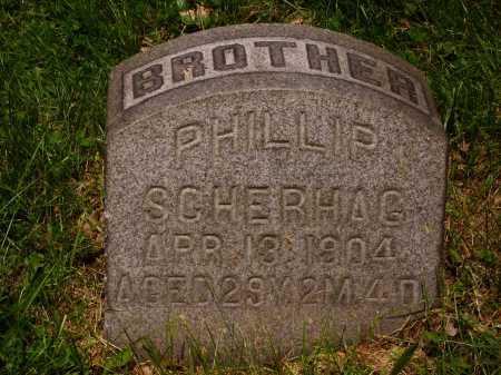 SCHERHAG, PHILLIP - Stark County, Ohio | PHILLIP SCHERHAG - Ohio Gravestone Photos