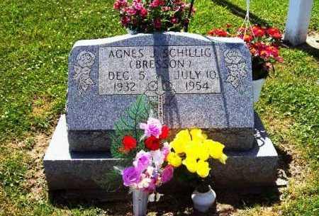 BRESSON SCHILLIG, AGNES J. - Stark County, Ohio | AGNES J. BRESSON SCHILLIG - Ohio Gravestone Photos