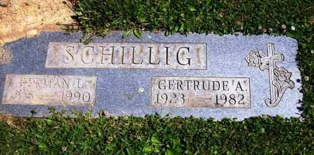 SCHILLIG, HERMAN L. - Stark County, Ohio | HERMAN L. SCHILLIG - Ohio Gravestone Photos