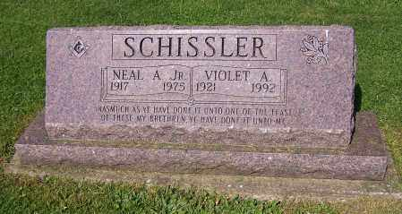 SCHISSLER, NEAL A. (JR) - Stark County, Ohio | NEAL A. (JR) SCHISSLER - Ohio Gravestone Photos