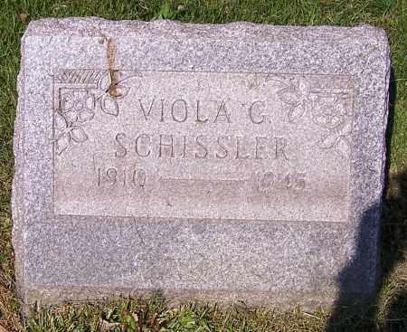 SCHISSLER, VIOLA G. - Stark County, Ohio   VIOLA G. SCHISSLER - Ohio Gravestone Photos