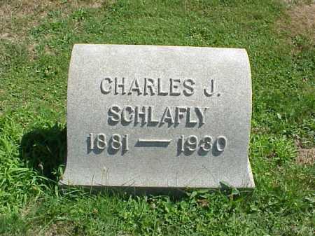 SCHLAFLY, CHARLES J. - Stark County, Ohio   CHARLES J. SCHLAFLY - Ohio Gravestone Photos