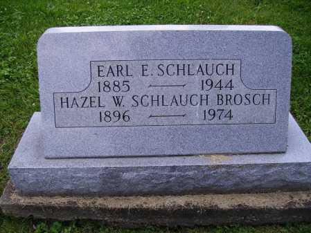 SCHLAUGH, EARL E. - Stark County, Ohio | EARL E. SCHLAUGH - Ohio Gravestone Photos