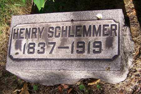 SCHLEMMER, HENRY - Stark County, Ohio | HENRY SCHLEMMER - Ohio Gravestone Photos