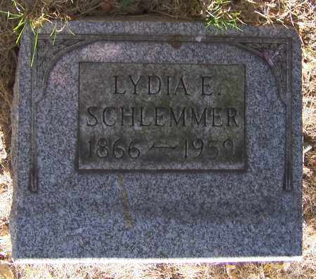 SCHLEMMER, LYDIA E. - Stark County, Ohio | LYDIA E. SCHLEMMER - Ohio Gravestone Photos