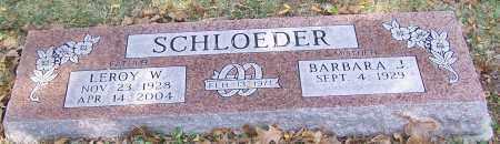 SCHLOEDER, BARBARA J. - Stark County, Ohio | BARBARA J. SCHLOEDER - Ohio Gravestone Photos