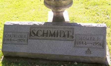 SCHMIDT, HOMER F. - Stark County, Ohio   HOMER F. SCHMIDT - Ohio Gravestone Photos