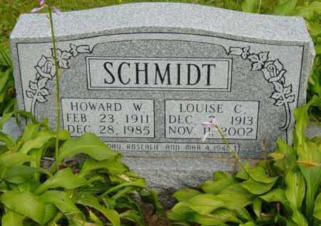 SCHMIDT, HOWARD W. - Stark County, Ohio | HOWARD W. SCHMIDT - Ohio Gravestone Photos