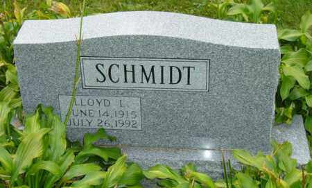 SCHMIDT, LLOYD L. - Stark County, Ohio | LLOYD L. SCHMIDT - Ohio Gravestone Photos
