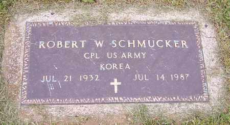 SCHMUCKER, ROBERT W.  (MIL) - Stark County, Ohio   ROBERT W.  (MIL) SCHMUCKER - Ohio Gravestone Photos