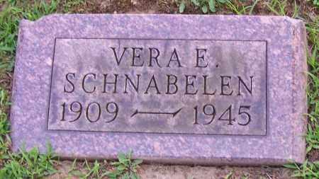 BLACK SCHNABELEN, VERA E. - Stark County, Ohio | VERA E. BLACK SCHNABELEN - Ohio Gravestone Photos