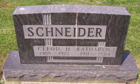 SCHNEIDER, KATHARYN I. - Stark County, Ohio | KATHARYN I. SCHNEIDER - Ohio Gravestone Photos