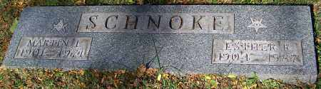 SCHNOKE, ESTHER R. - Stark County, Ohio | ESTHER R. SCHNOKE - Ohio Gravestone Photos