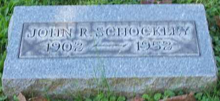 SCHOCKLEY, JOHN R. - Stark County, Ohio | JOHN R. SCHOCKLEY - Ohio Gravestone Photos