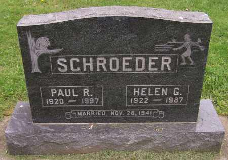 SCHROEDER, PAUL R. - Stark County, Ohio | PAUL R. SCHROEDER - Ohio Gravestone Photos