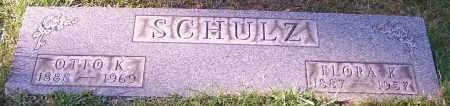SCHULZ, FLORA K. - Stark County, Ohio | FLORA K. SCHULZ - Ohio Gravestone Photos