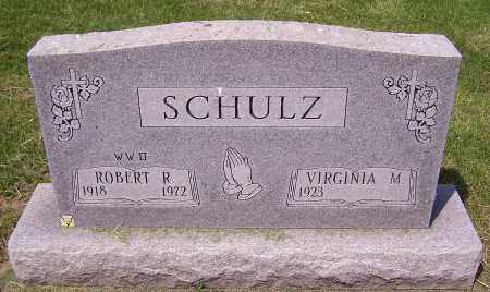 SCHULZ, VIRGINIA M. - Stark County, Ohio | VIRGINIA M. SCHULZ - Ohio Gravestone Photos