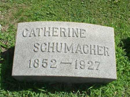 SHOEMAKER SCHUMACHER, CATHERINE - Stark County, Ohio   CATHERINE SHOEMAKER SCHUMACHER - Ohio Gravestone Photos