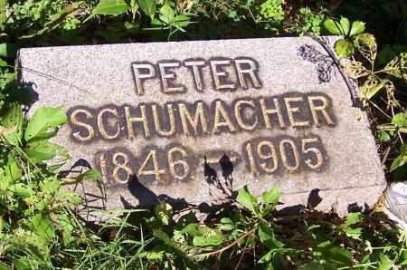 SCHUMACHER, PETER - Stark County, Ohio   PETER SCHUMACHER - Ohio Gravestone Photos