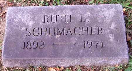 SCHUMACHER, RUTH L. - Stark County, Ohio   RUTH L. SCHUMACHER - Ohio Gravestone Photos