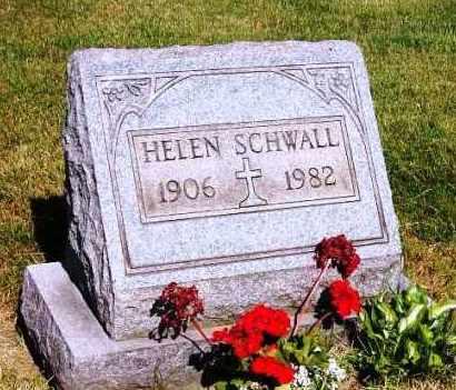 SCHWALL, HELEN - Stark County, Ohio | HELEN SCHWALL - Ohio Gravestone Photos