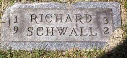 SCHWALL, RICHARD - Stark County, Ohio | RICHARD SCHWALL - Ohio Gravestone Photos