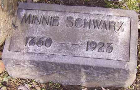 SCHWARZ, MINNIE - Stark County, Ohio   MINNIE SCHWARZ - Ohio Gravestone Photos