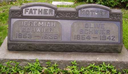 KOCHER SCHWIER, OLIVE - Stark County, Ohio | OLIVE KOCHER SCHWIER - Ohio Gravestone Photos