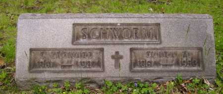 SCHWORM, CLARA M. - Stark County, Ohio | CLARA M. SCHWORM - Ohio Gravestone Photos