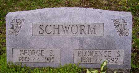 SCHWORM, FLORENCE - Stark County, Ohio | FLORENCE SCHWORM - Ohio Gravestone Photos