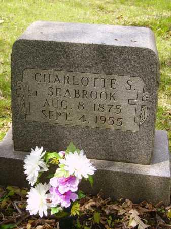 LUCAS SEABROOK, CHARLOTTE S. - Stark County, Ohio | CHARLOTTE S. LUCAS SEABROOK - Ohio Gravestone Photos