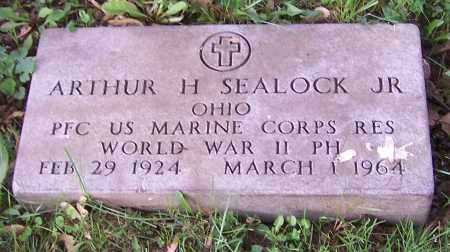 SEALOCK, ARTHUR H. (JR)  (MIL) - Stark County, Ohio   ARTHUR H. (JR)  (MIL) SEALOCK - Ohio Gravestone Photos