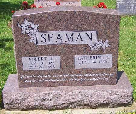SEAMAN, KATHERINE E. - Stark County, Ohio | KATHERINE E. SEAMAN - Ohio Gravestone Photos