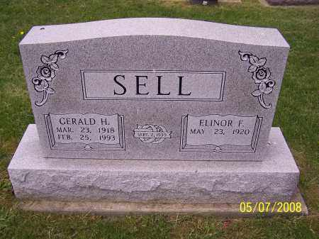 SELL, GERALD H. - Stark County, Ohio | GERALD H. SELL - Ohio Gravestone Photos