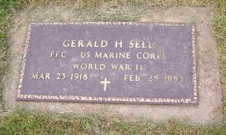 SELL, GERALD H. (MIL) - Stark County, Ohio   GERALD H. (MIL) SELL - Ohio Gravestone Photos