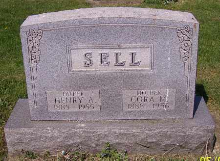 SELL, CORA M. - Stark County, Ohio | CORA M. SELL - Ohio Gravestone Photos
