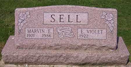 SELL, MARVIN E. - Stark County, Ohio | MARVIN E. SELL - Ohio Gravestone Photos