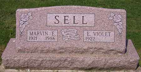 SELL, E. VIOLET - Stark County, Ohio | E. VIOLET SELL - Ohio Gravestone Photos