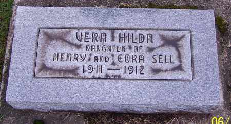 SELL, VERA HILDA - Stark County, Ohio | VERA HILDA SELL - Ohio Gravestone Photos