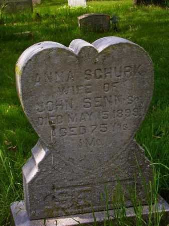 SENN, ANNA - Stark County, Ohio | ANNA SENN - Ohio Gravestone Photos