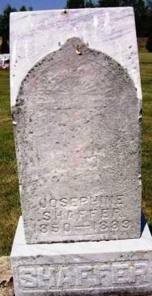 SHAFFER, JOSEPHINE - Stark County, Ohio   JOSEPHINE SHAFFER - Ohio Gravestone Photos