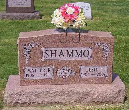SHAMMO, WALTER R. - Stark County, Ohio | WALTER R. SHAMMO - Ohio Gravestone Photos