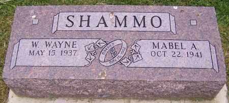 SHAMMO, W. WAYNE - Stark County, Ohio   W. WAYNE SHAMMO - Ohio Gravestone Photos