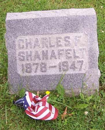 SHANAFELT, CHARLES F. - Stark County, Ohio | CHARLES F. SHANAFELT - Ohio Gravestone Photos