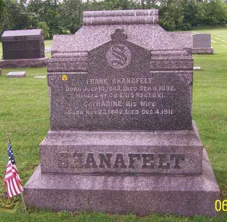 SHANAFELT, CATHARINE - Stark County, Ohio | CATHARINE SHANAFELT - Ohio Gravestone Photos
