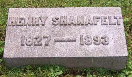SHANAFELT, HENRY - Stark County, Ohio | HENRY SHANAFELT - Ohio Gravestone Photos