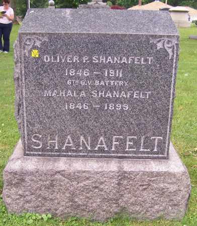 SHANAFELT, OLIVER P. - Stark County, Ohio | OLIVER P. SHANAFELT - Ohio Gravestone Photos